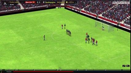 20 Yard Free Kick by Neymar vs Southampton
