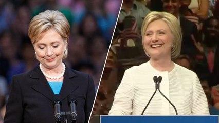 De 2008 à 2016, Clinton a changé de destin mais pas de discours