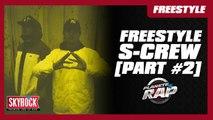 Freestyle [Part #2] du S-Crew (Nekfeu, Framal, Mekra et 2Zer) dans Planète Rap ! #DestinsLiés