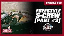 Freestyle [Part #3] du S-Crew (Nekfeu, Framal, Mekra et 2Zer) dans Planète Rap ! #DestinsLiés