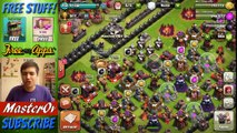 MAX LEVEL TROLL BASE   Clash Of Clans   Trolling In Bronze With Maxed Out Defenses!