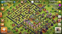THE MAZE BASE!  - Clash of Clans - WEIRD TROLL BASE! Trolling Noobs in the Maze!