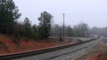 HD: Amtrak 156 Phase 1 Heritage Unit leads Amtrak Crescent #19 in Temple, GA