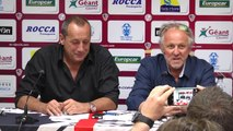 Conférence de presse sur la situation du club avant la DNCG