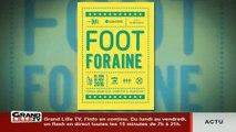 Foot Foraine à la gare Saint-Sauveur (Lille)