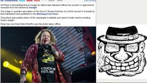 Axl Rose demands Google remove image that led to memes mocking weight