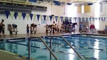 Hasan 1st swim meet - 25 yard breaststroke