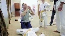 Lecciones de Karate con Jean Claude Van Damme