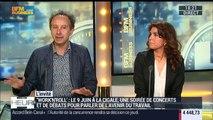 """Sophie Prunier-Poulmaire et Philippe Askenazy présentent la soirée de concerts et de débats """"Work'n'Roll"""" - 08/06"""