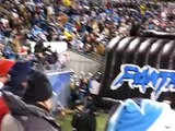 2008-09 Carolina Panthers DEFENSE PLAYER INTRODUCTIONS(monday night game) PANTHERS-38  BUCS-22