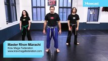 Krav Maga Training|How to Defend Against Front Shirt Grab|Self Defense Fighting Techniques