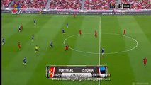 Cristiano Ronaldo Goal HD - Portuga vs Estonia 08.06.2016 HD