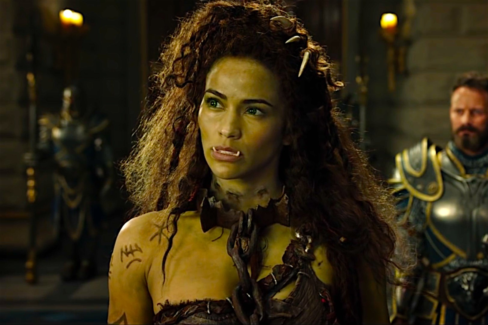 Warcraft Behind The Scenes With Paula Patton Video Dailymotion