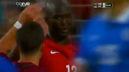 Danilo Pereira Goal Portugal 4 - 0 Estonia Friendly Match 7-6-2016