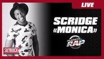 """Scridge """"Monica"""" version acoustique en exclu sur Skyrock dans Planète Rap"""