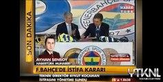 Fenerbahçe Teknik Direktörü Aykut Kocaman istifa etti 22 Aralık 2012