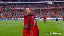 Mets K. (Own goal) Goal HD - Portugal 5-0 Estonia - 08-06-2016