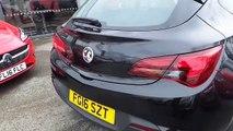 2016 16 Vauxhall Astra GTC 1.4 16V TURBO SPORT 3DR INC 19 INCH ALLOYS  In Black