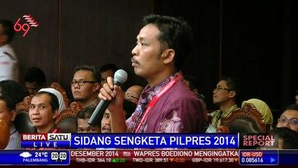 Special Report: Sidang Sengketa Pilpres # 17