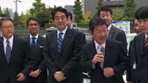 Japan's Prime Minister Abe Hits Tokyo Streets in a Nissan's Self Driving Car