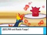 Pokemon Oro Heartgold 22. | Lider de Gimnasio Morti |