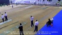Finale tir de précision féminin, France Tirs, Sport Boules, Dardilly 2015