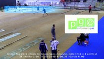 Finale tir de précision masculin, France Tirs, Sport Boules, Dardilly 2015