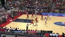 Paul George 19 Pts Highlights (Sick Dunk) vs Houston Rockets (2013.10.13) (NBA GLOBAL GAMES)