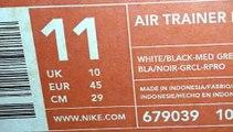 I MATERIALI STORICI DI SCARPE 25---NIKE(NUMERO DI MODELLO AIR TRAINER 1)