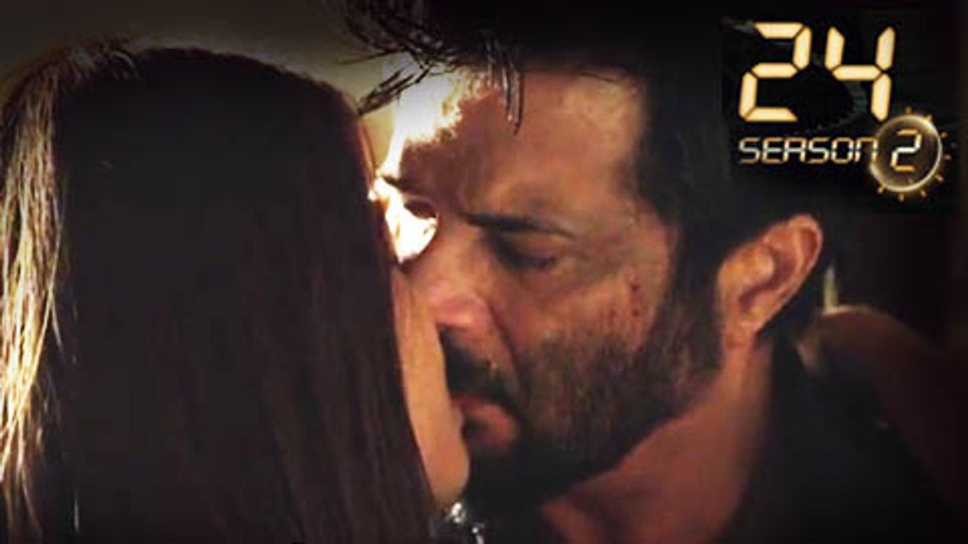 Anil Kapoor & Surveen Chawla's Hot Kiss In 24 India Season 2   Colors