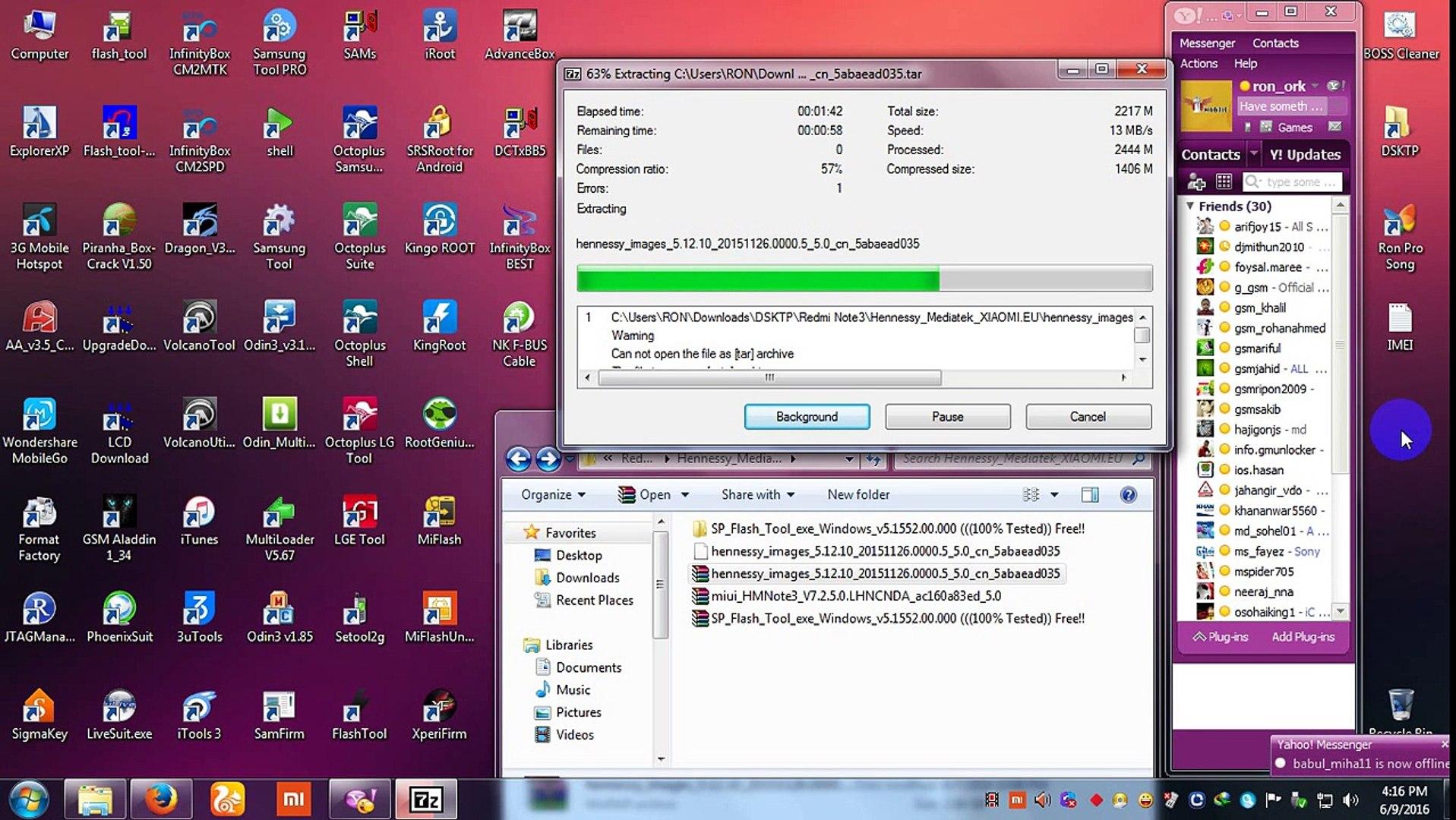 MI Redmi Note3 Mediatek Full Flash & MI'cloud done 100% Tested By Ron