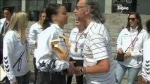 Le Brest Bretagne Handball reçu à la mairie de Brest