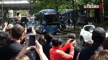 Euro 2016 : les Bleus sont arrivés à leur hôtel devant des supporteurs déçus