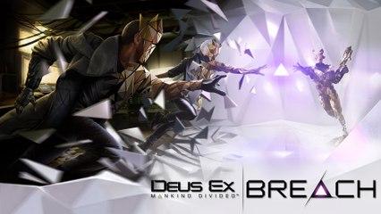 Deus Ex  Mankind Divided – Breach - Trailer di presentazione