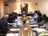 Sindh Chief Minister Syed Qaim Ali Shah chairs meeting on K4 project.