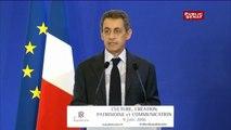 """Nicolas Sarkozy  """"n' a pas besoin d'autorisation pour parler"""""""