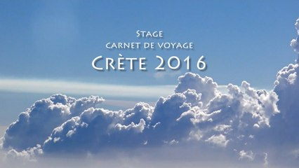 Stage de dessin carnet de voyage en Crète 2016