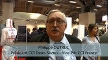 SMCL 2016 Pavillon Deux-Sèvres Interview de Philippe DUTRUC, Président CCI Deux-Sèvres