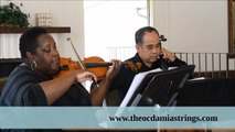 The Ocdamia Strings Cover 'Bad Romance' (Lady Gaga) Duet Music Orange County
