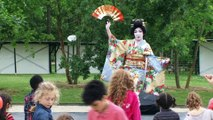 Nihon-Buyo(Danse traditionnelle japonaise) au jardin d'acclimatation -Mai