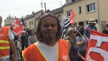 Mobilisation contre la Loi Travail : les organisations syndicales ont défilé