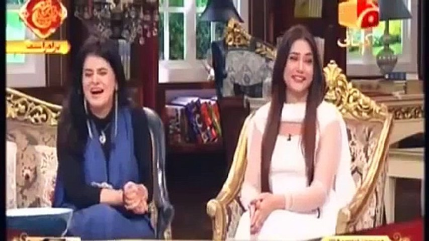 Aamir Liaquat Embarrassed The Girl with His Shameful Talk in Live Show