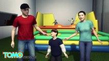 Anak laki-laki terperangkap dalam istana karet diselamatkan oleh ayah - Tomonews