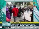 Chule: marcha estudiantil de la ConfeCh transcurre con normalidad
