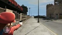 BallisticSquid GTA 4  Mario in GTA!   Mario Bros  Mod Funny Moments