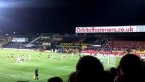 Lewis McGugan penalty: Watford v Doncaster Rovers - 17/09/13