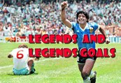 Best goals in World Cup 1966 / 1986 Maradona hand of god movie , Pele v.s. Great Goals
