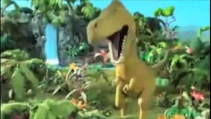 tyranasaurus alan and george the volcano get mixed up