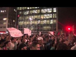A avenida Paulista parou novamente com protestos; veja o que rolou
