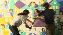 "Unidos Podemos elige Madrid para su tradicional ""pegada de carteles"""